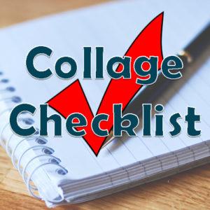 Collage Checklist